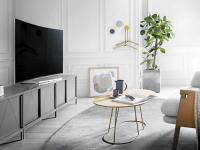 Телевизор в гостиной — 125 фото с лучшими вариантами размещения для вашего комфорта!