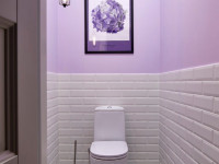Дизайн туалета маленького размера – 110 реальных фотографий