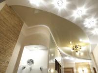 Лучшие варианты, как расположить светильники на натяжном потолке
