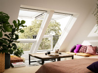 Мансардные окна наполнят чердачное помещение светом и чистым воздухом