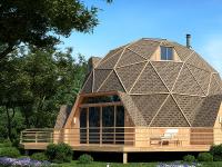 Дома-сферы с использованием несъемной опалубки и фабричные купольные дома