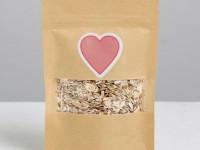 Упаковка виде сердца для свадебного подарка