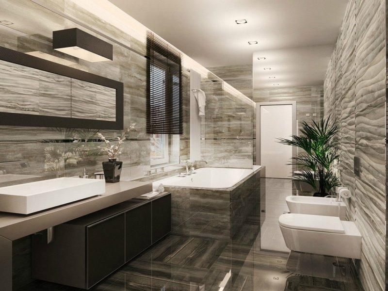 Интерьеры узкой ванной комнаты смеситель для ванной с термостатом купить в иркутске