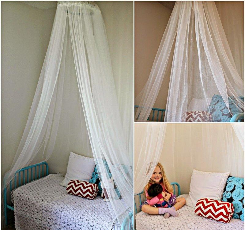 Как сделать балдахин над кровать