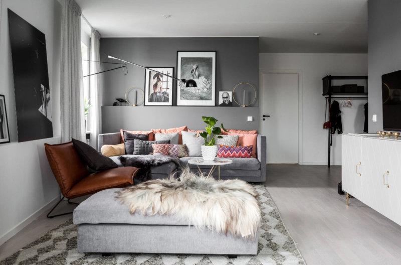 дизайн гостиной 2018 76 фото лучших вариантов современного стиля