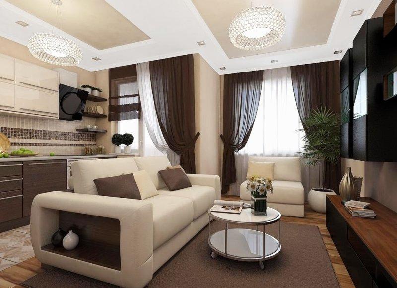 Дизайн квартиры в стиле лофт  75 фото идей дизайна