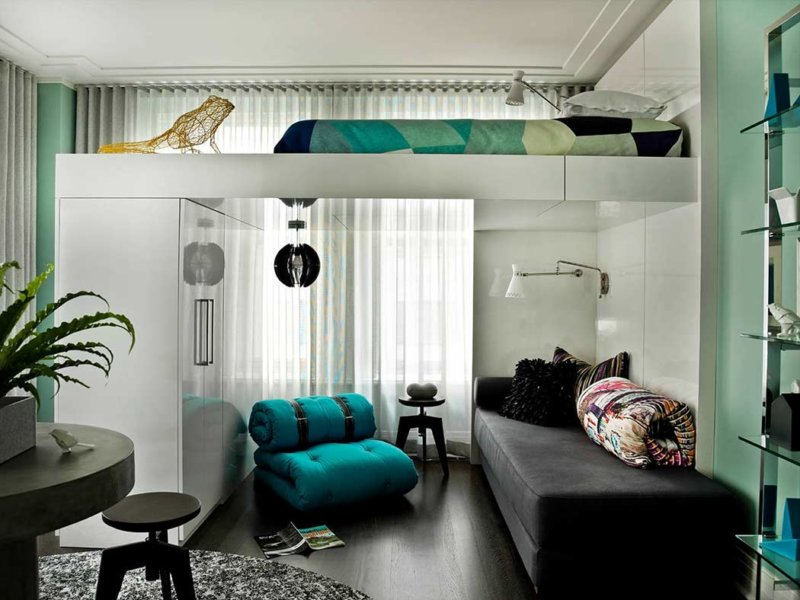 Интерьер маленькой квартиры - 86 фото лучших вариантов расстановки