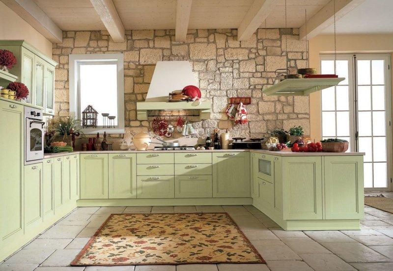 кухня в стиле прованс 103 фото модного дизайна на кухне