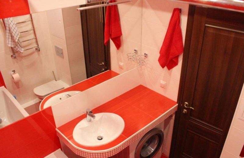 Дизайн ванной комнаты фото с машинкой