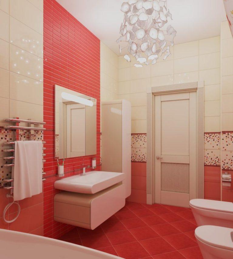 Дизайн красной ванной комнаты фото 2016 современные идеи