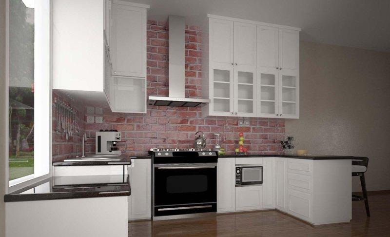 кухонный гарнитур фото 100 вариантов в интерьере кухни