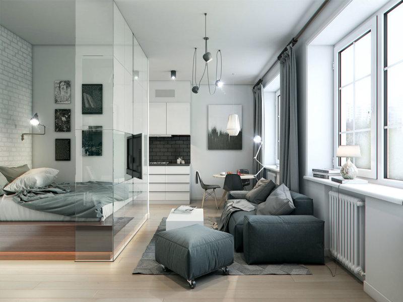 Примеры перепланировки квартир - ГСПСРУ