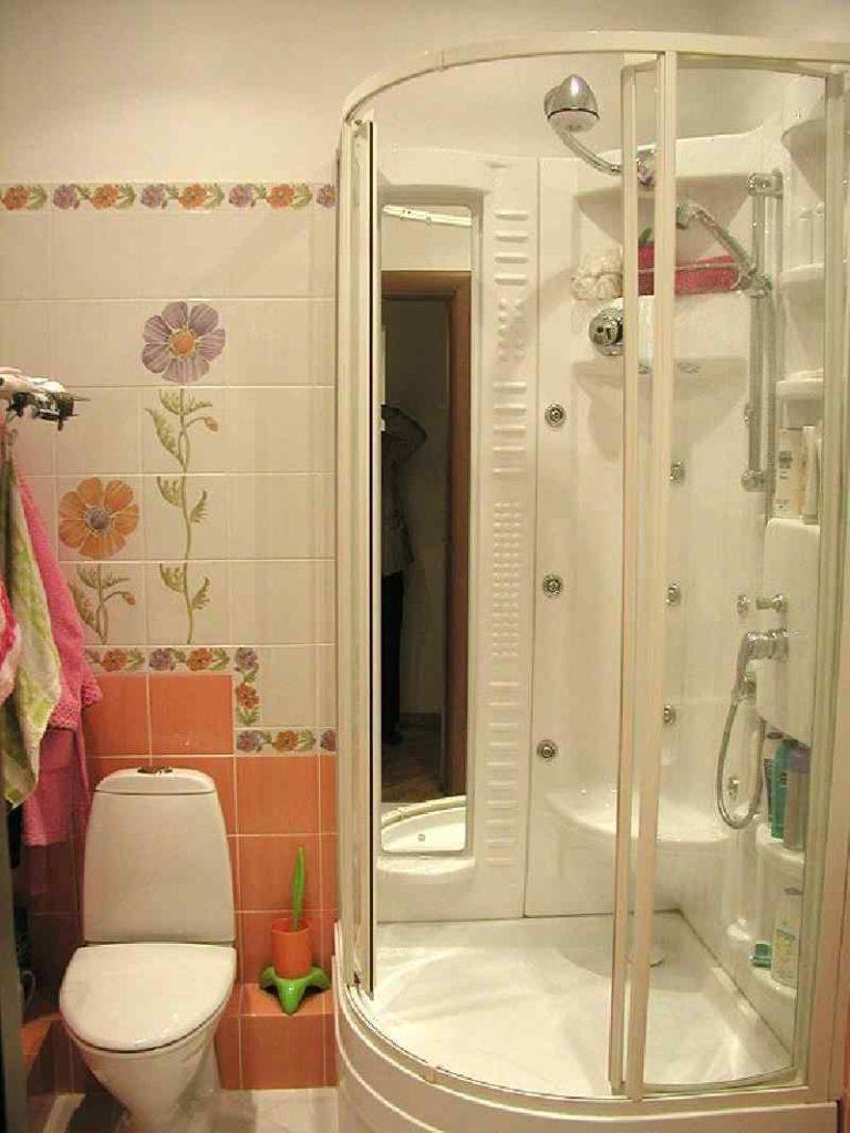 Дизайн ванной комнаты и туалета в малогабаритной квартире