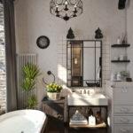 Ванная в сером цвете - 75 фото лучших идей сочетания в интерьере