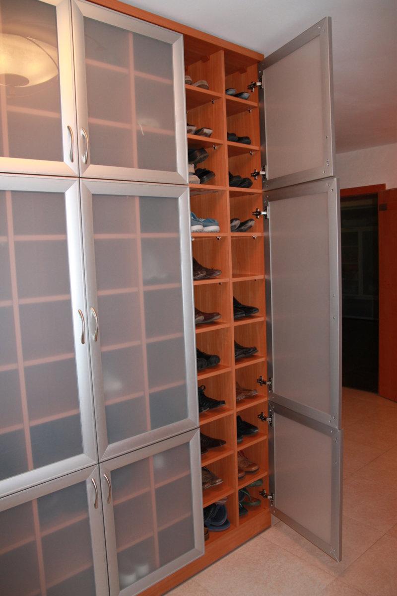 Встраиваемый шкаф для обуви своими руками