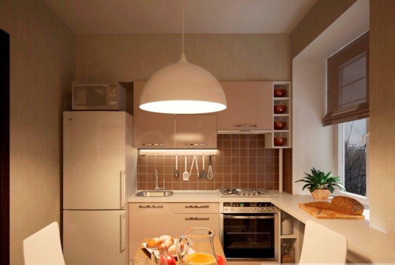 кухни 6 кв.м. фото дизайн
