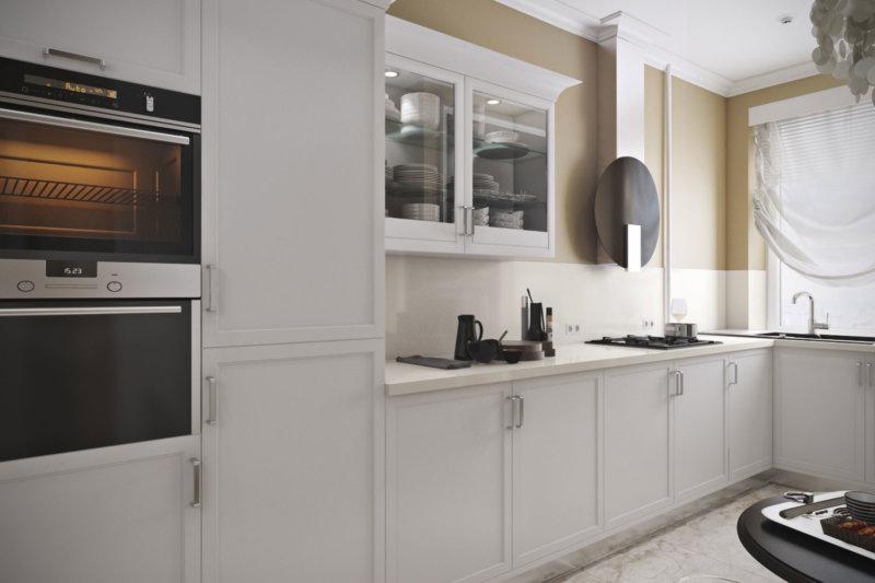 Cocina debajo de las fotos de diseño de ventana