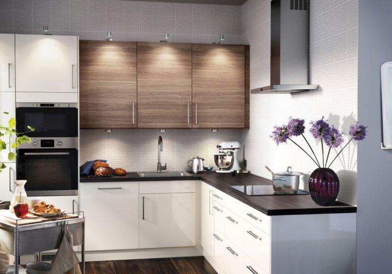Дизайн маленькой кухни фото 2017 современные