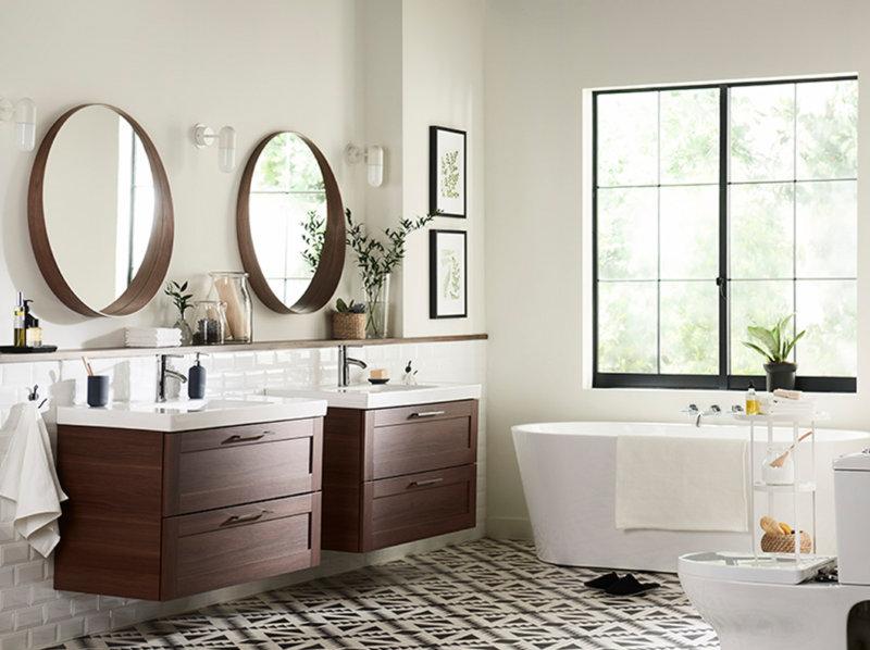 Badkamer Gootsteen Kast : Hoekkasten in de badkamerfoto