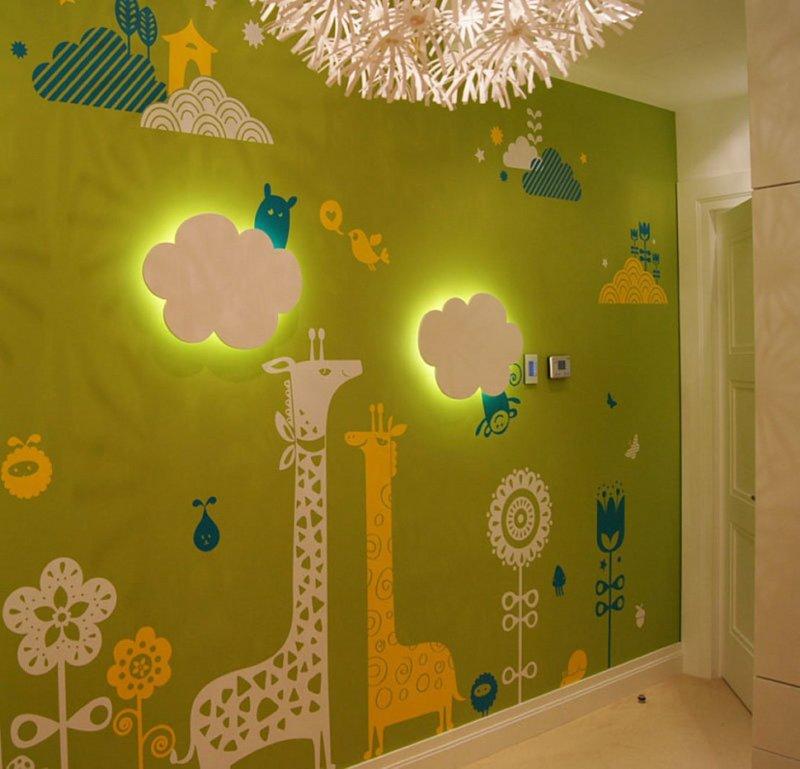 Украшения на стены в детский сад своими руками