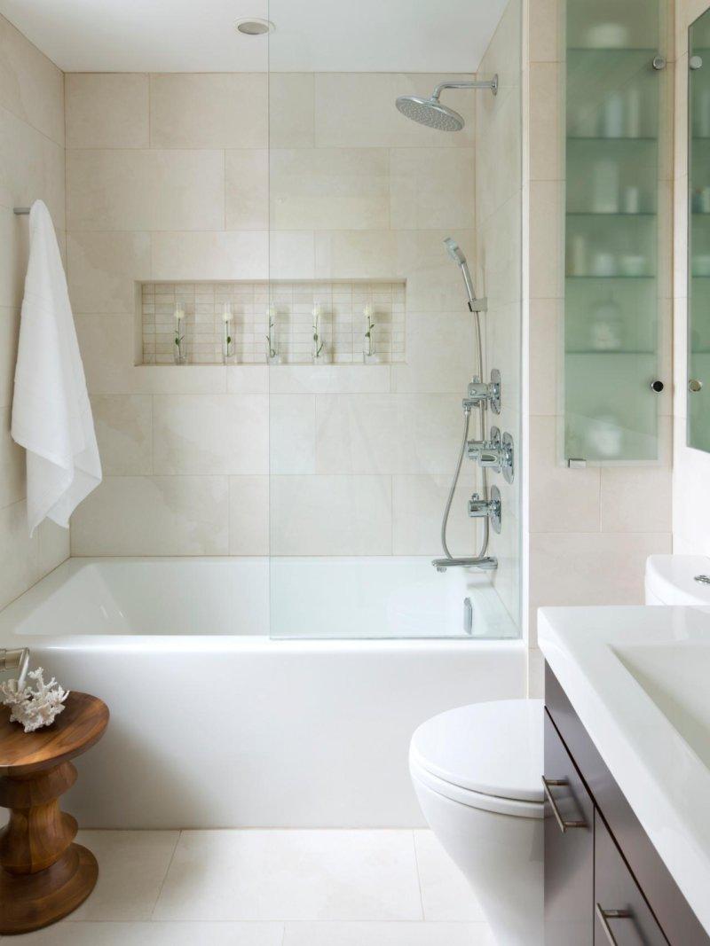 дизайн ванная хрущевка фото