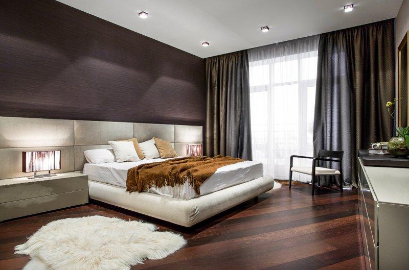 спальня интерьер дизайн 2018