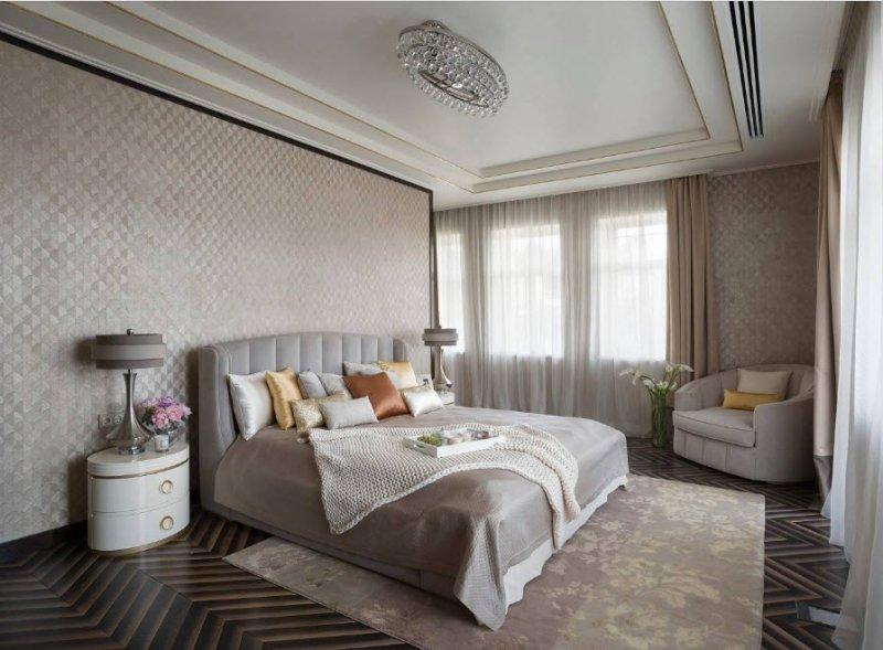 идеи дизайна спальни 2018