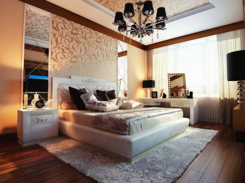 дизайн спальни 2018 года новинки