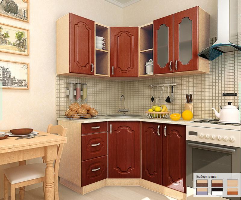 интерьер кухни эконом класса фото