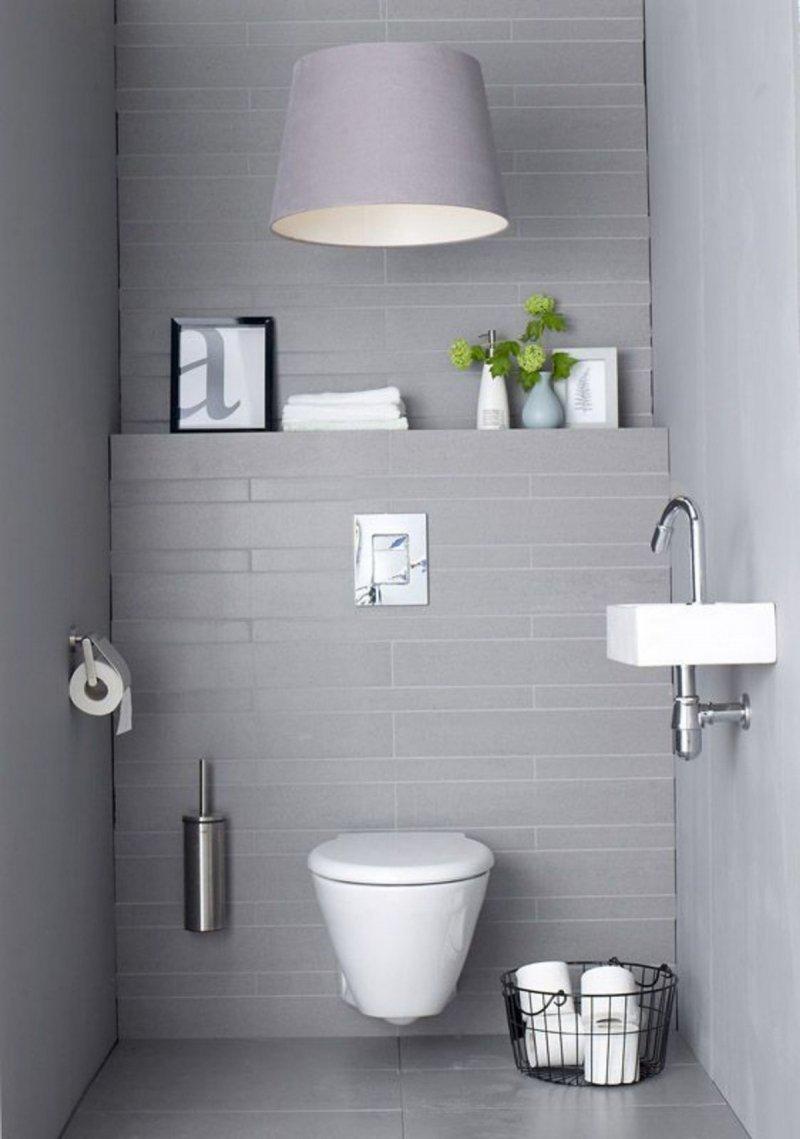 белый малогабаритный туалет