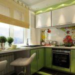 ремонт маленькой кухни недорого