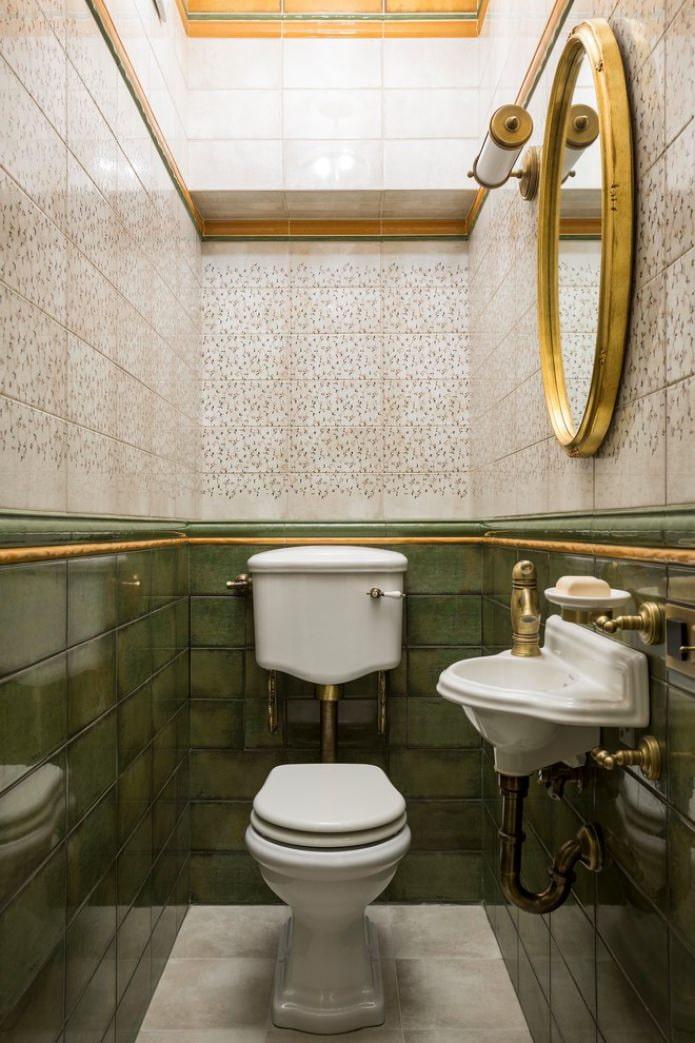 классический туалет фото стиль