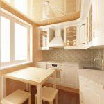 Ремонт кухни натяжные потолки своими руками.