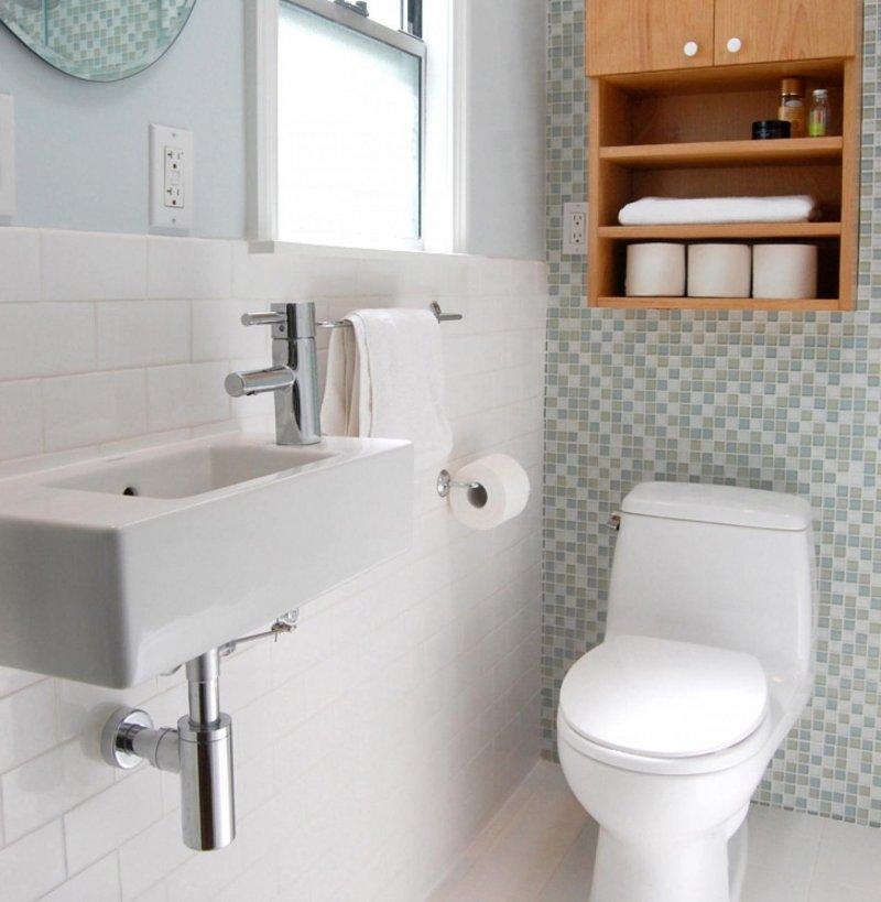 мебель в маленьком туалете фото