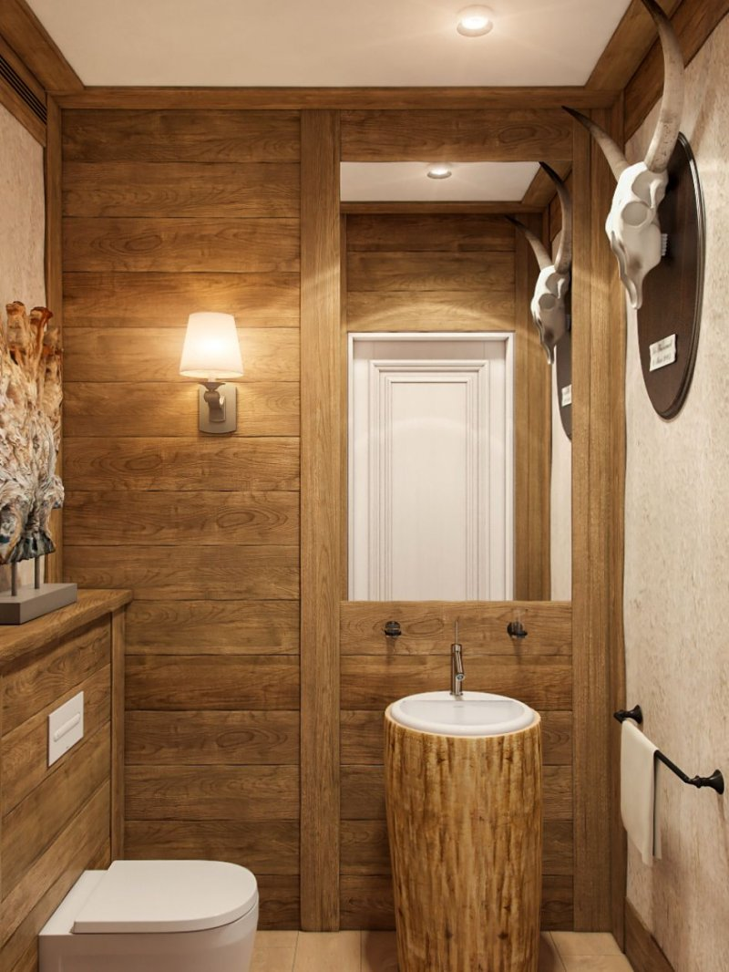 дизайн интерьера маленького туалета фото
