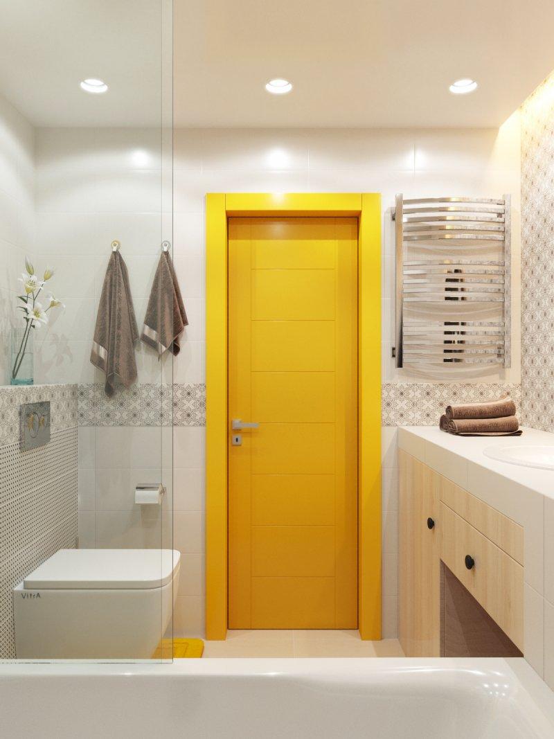 красивый дизайн маленькой ванной фото
