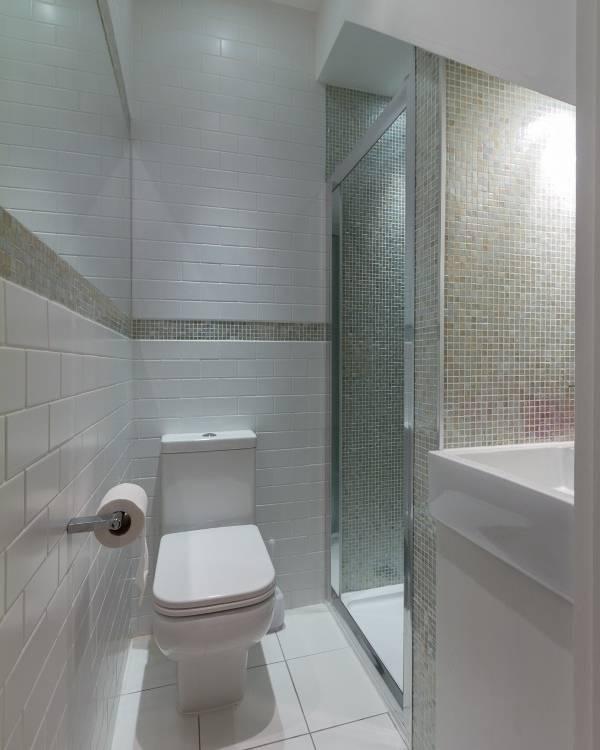 минимализм маленький туалет