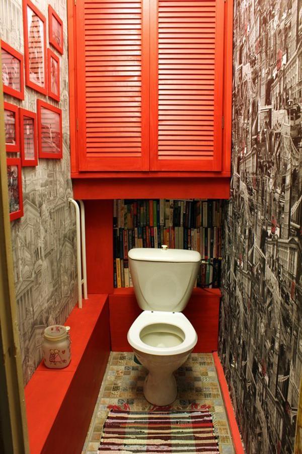 ремонт маленького туалета