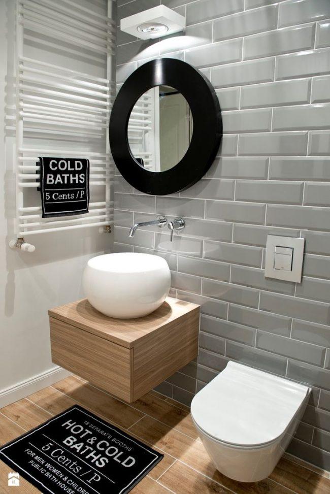 стили маленького туалета фото