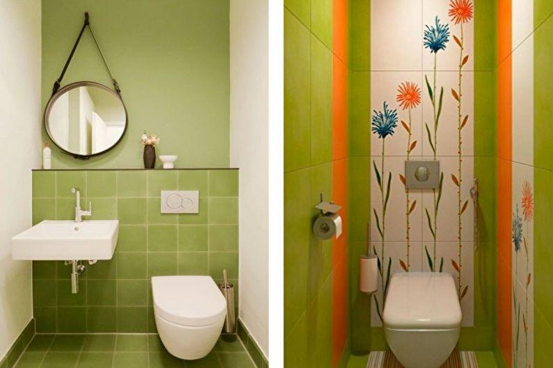 зеленая маленькая ванна фото